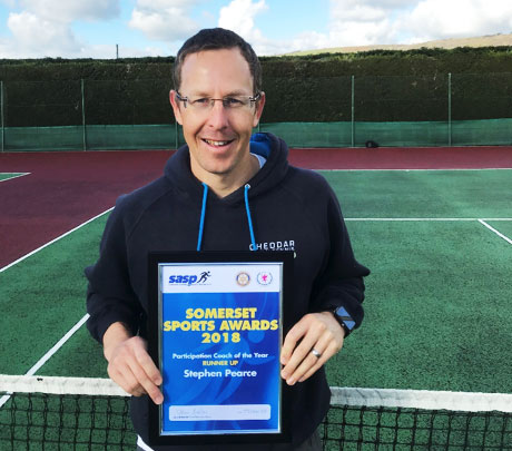 Somerset Sports Award For Our Coach