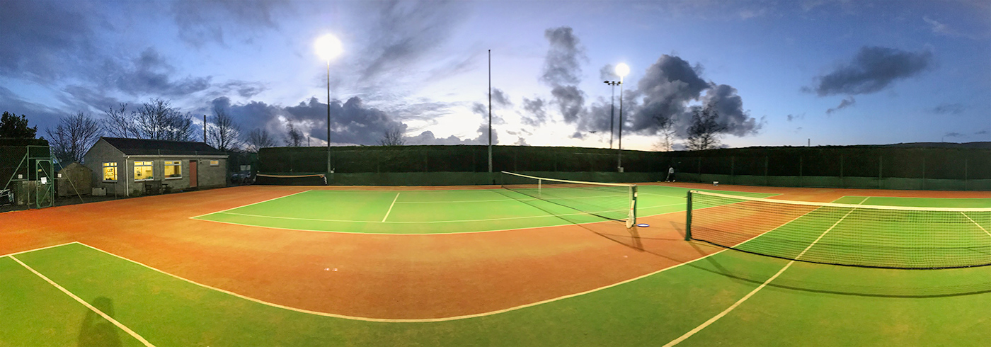 Newly Installed Matchplay2 Performance Tennis Surface